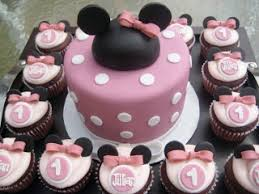 minnie mouse cupcakes special day cakes minnie mouse cupcakes for special birthday