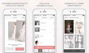 wedding dress finder david s bridal launches wedding dress finder app