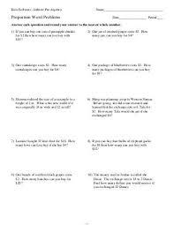 all worksheets proportion word problems worksheets printable
