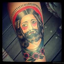 72 good jesus tattoos for arm