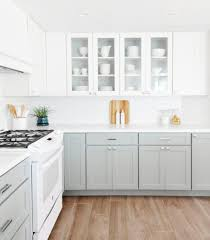 two tone kitchen cabinets colours get the look the two tone kitchen diy kitchen renovation