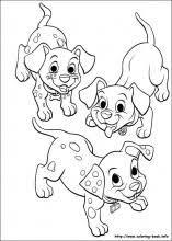 102 dalmatians coloring pages coloring book