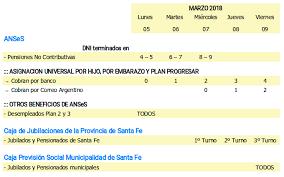 www anses calendario pago a jubilados pensionados 2016 cronograma de pagos de anses cajas provinciales y municipales en la