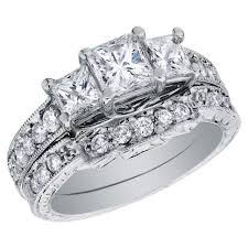 Zales Wedding Rings Sets by Wedding Rings Jared Settings White Gold Wedding Ring Sets Trio