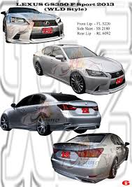 lexus gs f malaysia a perfect motor sport specialised in fibre glass moulding