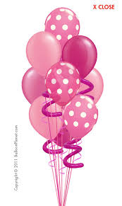 balloon delivery utah pink balloons party pink balloon bouquet 10 balloons balloon