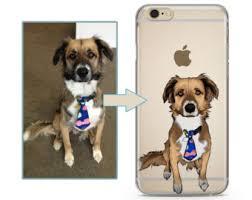 art glass dog ring holder images Dog phone case etsy jpg