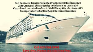 Car Service From Orlando Airport To Port Canaveral 20 Port Canaveral Transportation Shuttle From Orlando Airport