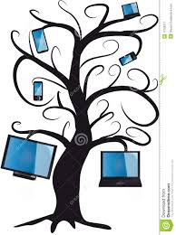 electronic tree royalty free stock photography image 12760217