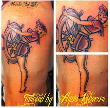 got to tattoo sailor jerry u0027s steady as she goes old pinup