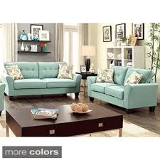 blue reclining sofa and loveseat santoro ocean leather 3 pc living room living room sets blue