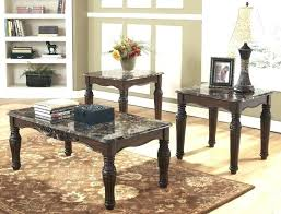 rooms to go coffee tables and end tables can an area rug go under just the coffee table rooms without coffee