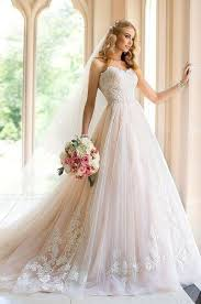 pink wedding dress pale pink wedding dress wedding dresses wedding ideas and