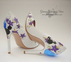 Wedding Shoes Purple Have You Seen These Disney Fairytale Princess Wedding Shoes