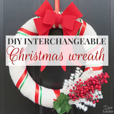 diy christmas burlap wreath tutorial decor by seashore