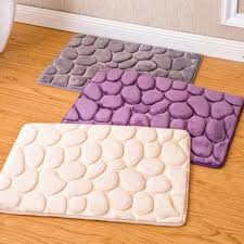 Memory Foam Rugs For Bathroom 40 60cm Coral Fleece Bathroom Memory Foam Rug Kit Toilet