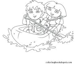 Go Diego Games Videos Coloring Pages Nick Jr And Play Pirate In Go Diego Go Coloring Pages