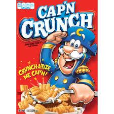 Breakfast Food Cereal Walmart Com by Cap U0027n Crunch Breakfast Cereal 14 Oz Walmart Com