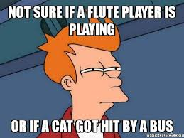 Flute Player Meme - players are terrible