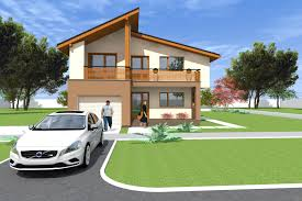 two storey house design in artlantis 245 sq meters 2640 sq