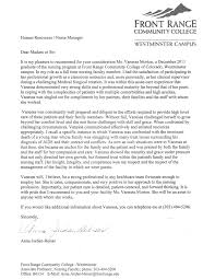 free sample professional letter of recommendation application form