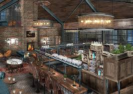 soho farmhouse bar or we could move to the country