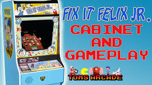 Fix Cabinet Fix It Felix Jr Cabinet And Gameplay Youtube