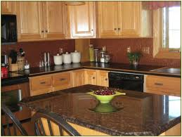 kitchen copper backsplash granite countertop standard wall cabinet sizes do all