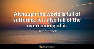 How Does A Blind Person See The World Helen Keller Quotes Brainyquote