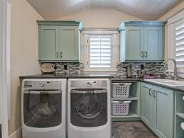 Cheap Laundry Room Cabinets Laundry Room Pertaining To Hanging Bar Ideas 3 Marielladeleeuw