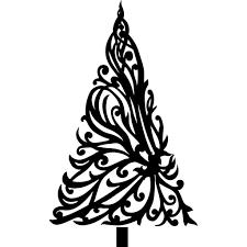 christmas tree drawings christmas lights decoration