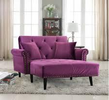 Purple Sleeper Sofa Purple Sofas Loveseats And Chaises Ebay