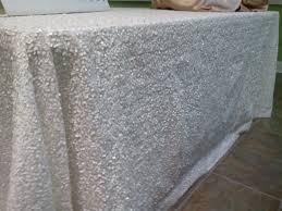 sequin tablecloth rental custom linens special event linen rentals
