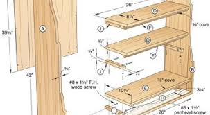 Woodworking Bookshelves Plans by 26 Bookcase Designs Blueprint 01 Corner Bult In Bookshelves