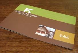 Kelly Cooke Home Builder Brochure Graphic Design Granite Falls NC - Home builder design