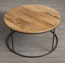 incredible round wood coffee table coffee table awesome reclaimed