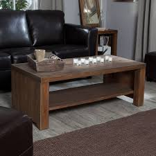 belham living brinfield rustic solid wood coffee table hayneedle