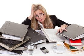 Picture Of Someone Sleeping At Their Desk Stress In The Workplace Adrenal Fatigue Solution