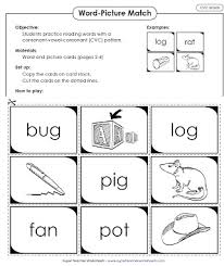 cvc words worksheet free worksheets library download and print