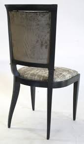 dining art deco dining chair by jindrich halabala for thonet 6