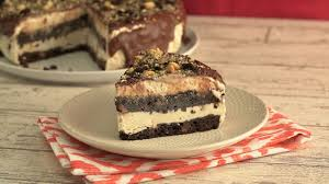 crushed biscotti and coffee ice cream cake recipe tastemade