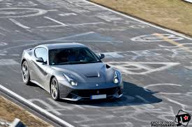Ferrari F12 Blue - photo of the day ferrari f12 berlinetta on the nordschleife