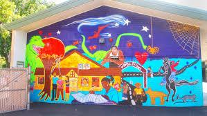 public art in north fair oaks north fair oaks community murals at garfield community school