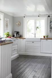 Kitchen Floor Idea Grey Kitchen Cabinets With Wood Floors Tags Superb Grey Kitchen
