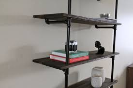 Industrial Bookcase Diy 17 Awesome Diy Industrial Shelves And Racks Shelterness