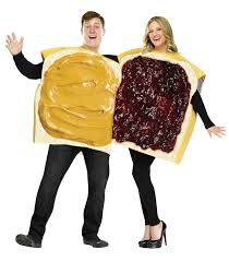 costumes couples buy peanut butter jelly costume pb j couples costumes