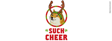 Doge Meme Christmas - doge such cheer meme dog facebook cover fbcoverstreet com