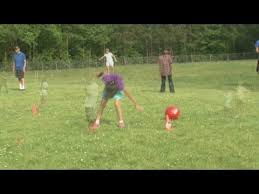 Baseball For The Blind Kickball For The Blind Youtube