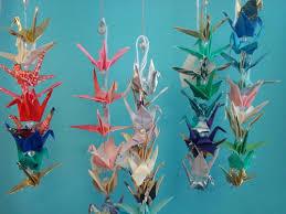 workshops more origami crane ornament