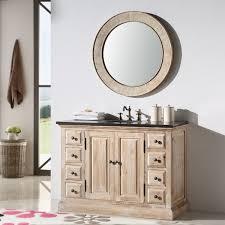 68 Inch Bathroom Vanity by Marble Top 48 Inch Single Sink Rustic Bathroom Vanity With